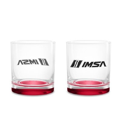 Whiskey Glass Red