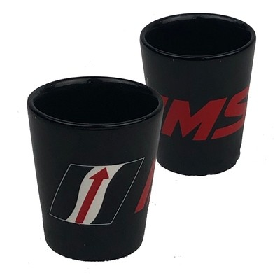 IMSA Shot Glass Black 2 oz
