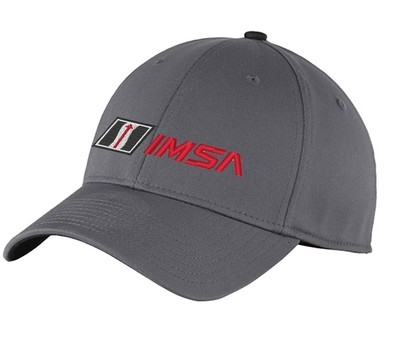 IMSA New Era Flexfit Hat - Graphite/Black