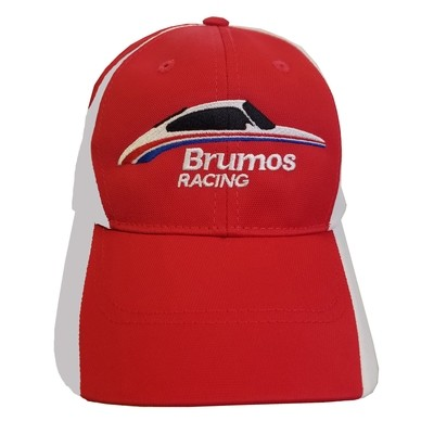 Brumos Racing Hat-Red/White
