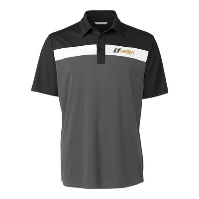 IMSA Est.1969 CBuck Chambers Polo -Black/White/Grey
