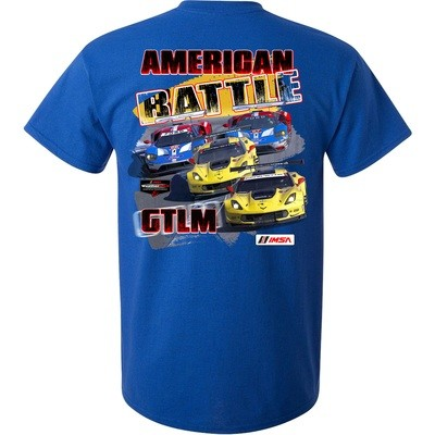 American Battle - Chevy vs. Ford Tee -Antique Royal