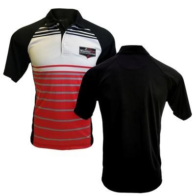 WeatherTech Eversole Polo-Red/Black/White