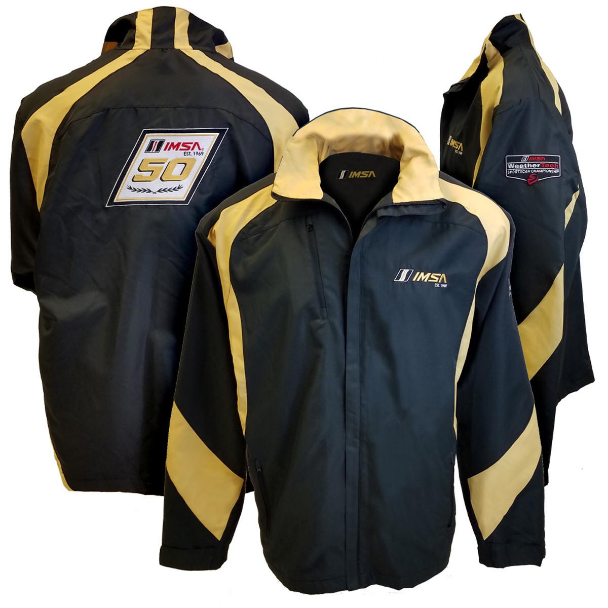 IMSA 1969 Full Zip Jacket -Black/Gold