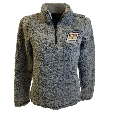 IMSA 50th Ladies Sherpa 1/4 Zip Pullover