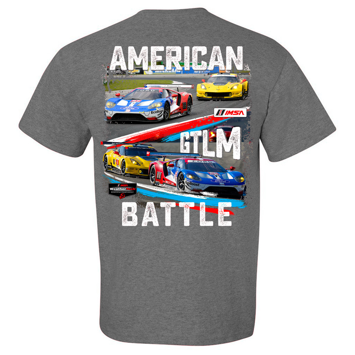 American Battle - Ford vs. Chevy Tee - Graphite Tri-Blend