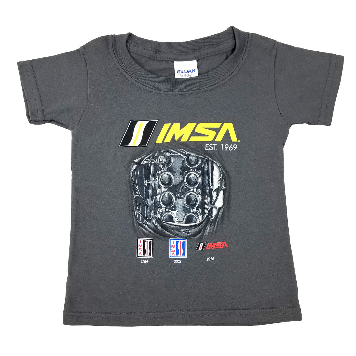 IMSA 50th Breakthough Toddler Tee Charcoal