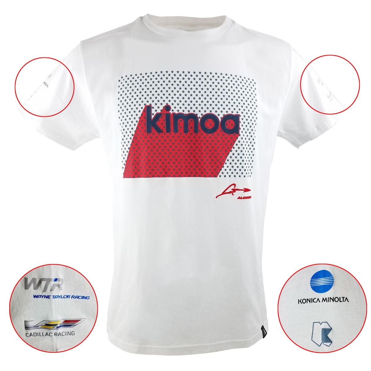 Kimoa/Alfonso Tee - White