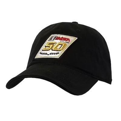 IMSA 50th Black Relaxed Hat