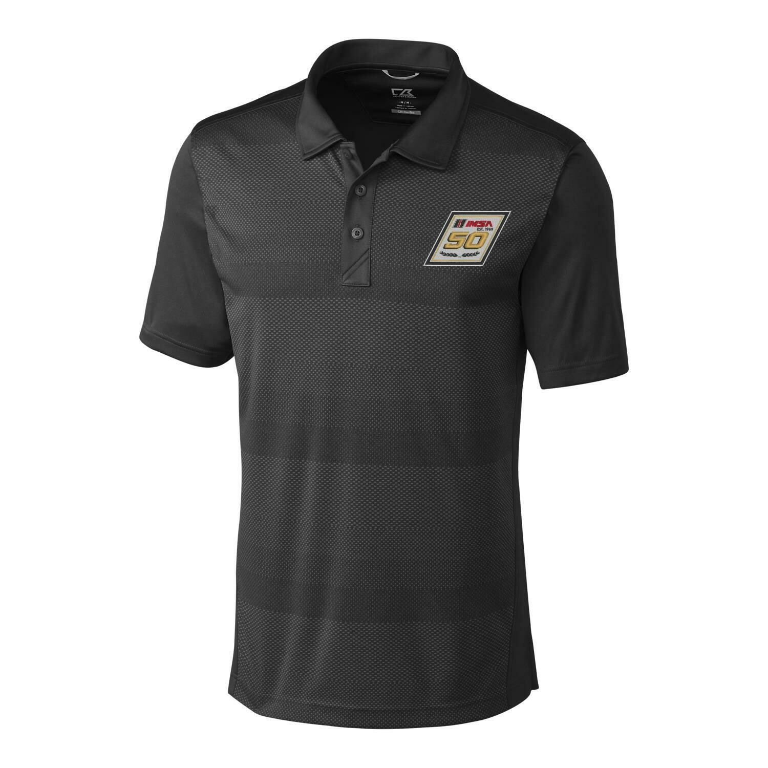 IMSA 50th Cutter & Buck Crescent Polo - Petrol Grey