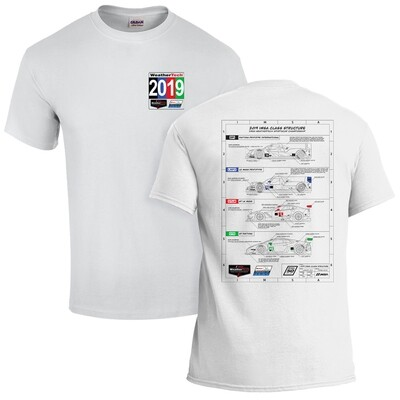 IMSA 2019 WeatherTech Technical Tee - White