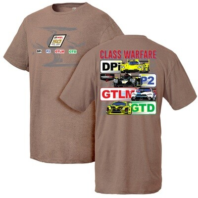IMSA 50th Anniversary Class Warfare Tee - Brown