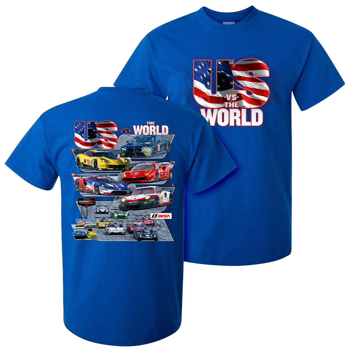 Us  Vs. The World Tee - Antique Royal