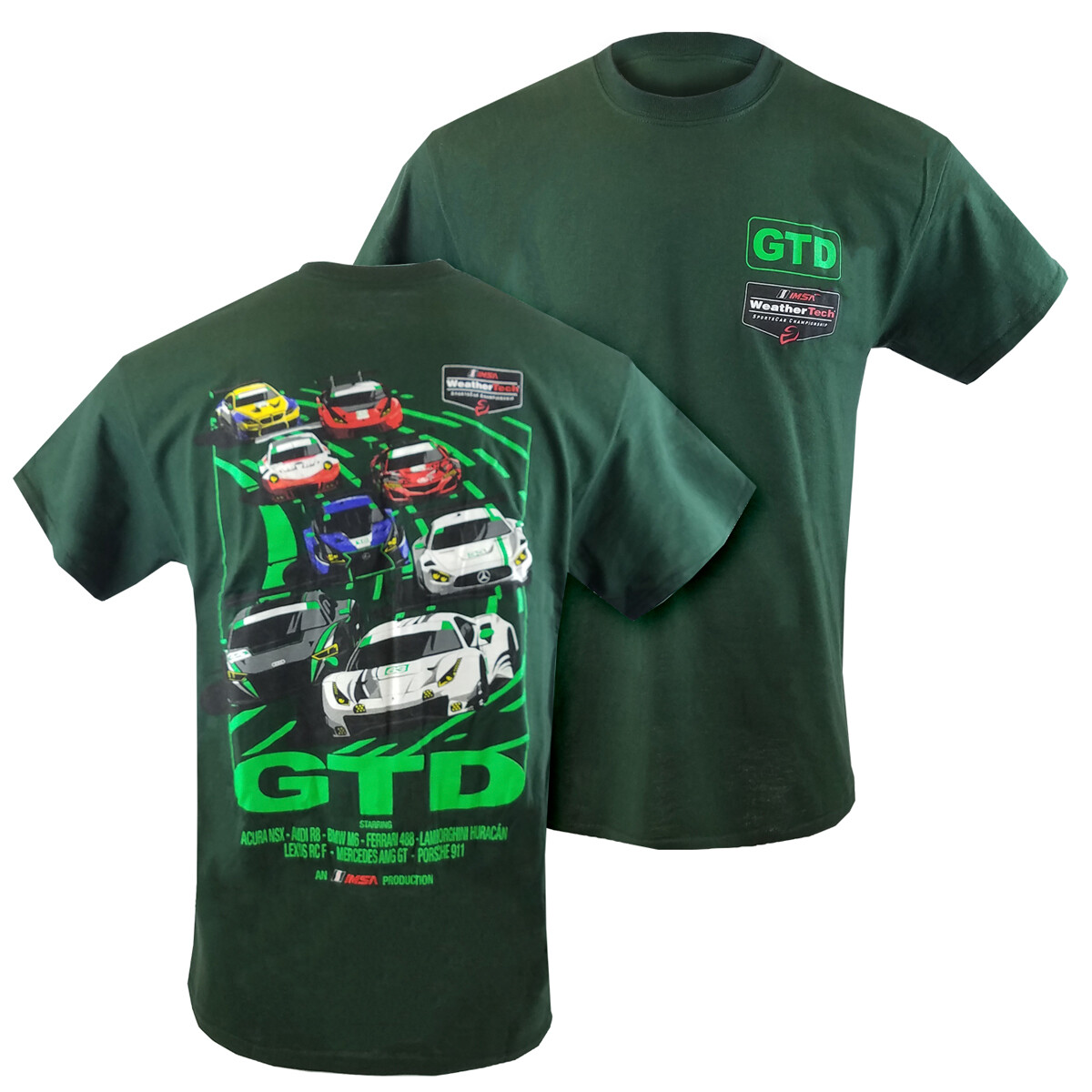 IMSA Movie Poster Design Tee - Green