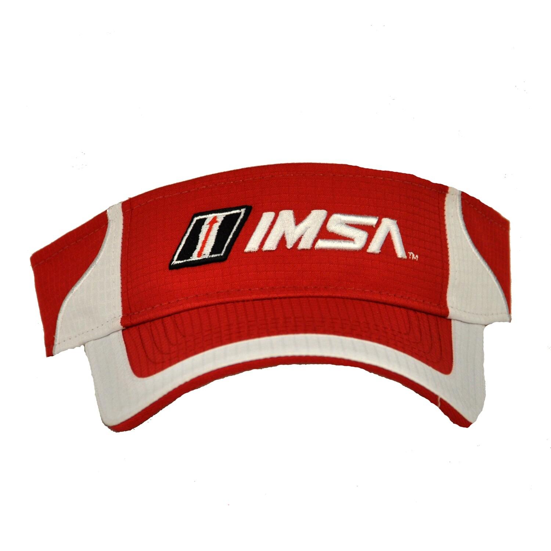 IMSA Red Visor