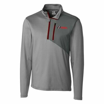 IMSA Shaw Hybrid Half-Zip Pullover - Oxide/Cardinal