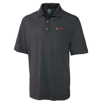 IMSA Red Logo Championship Polo - Charcoal