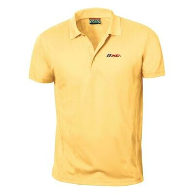IMSA Ice Pique Polo - Maze Yellow