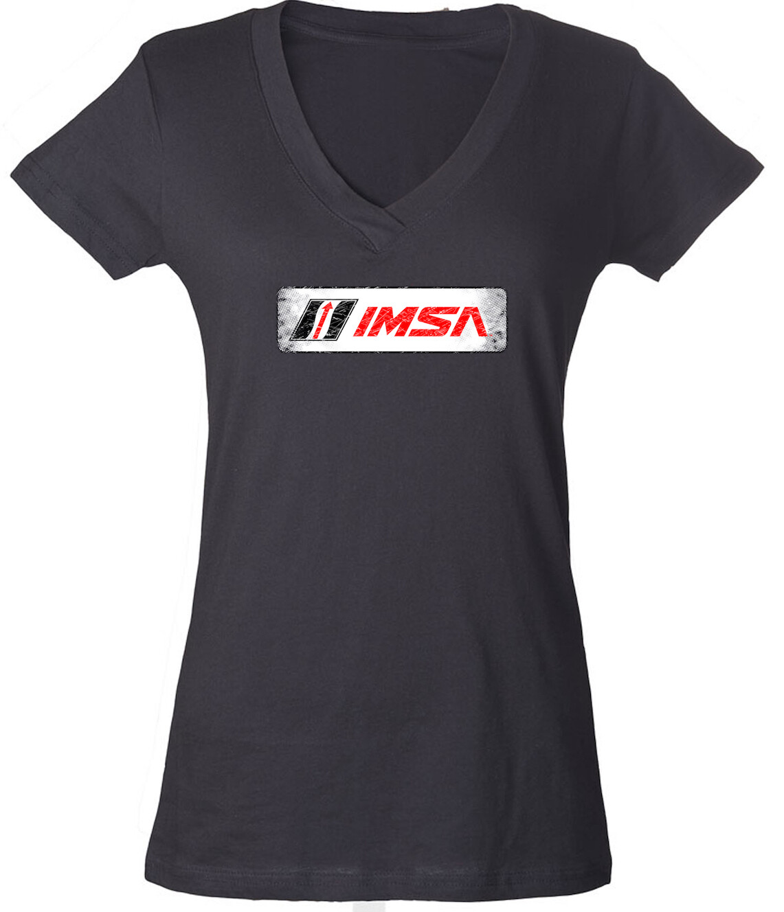 IMSA Ladies Logo Tee - Charcoal