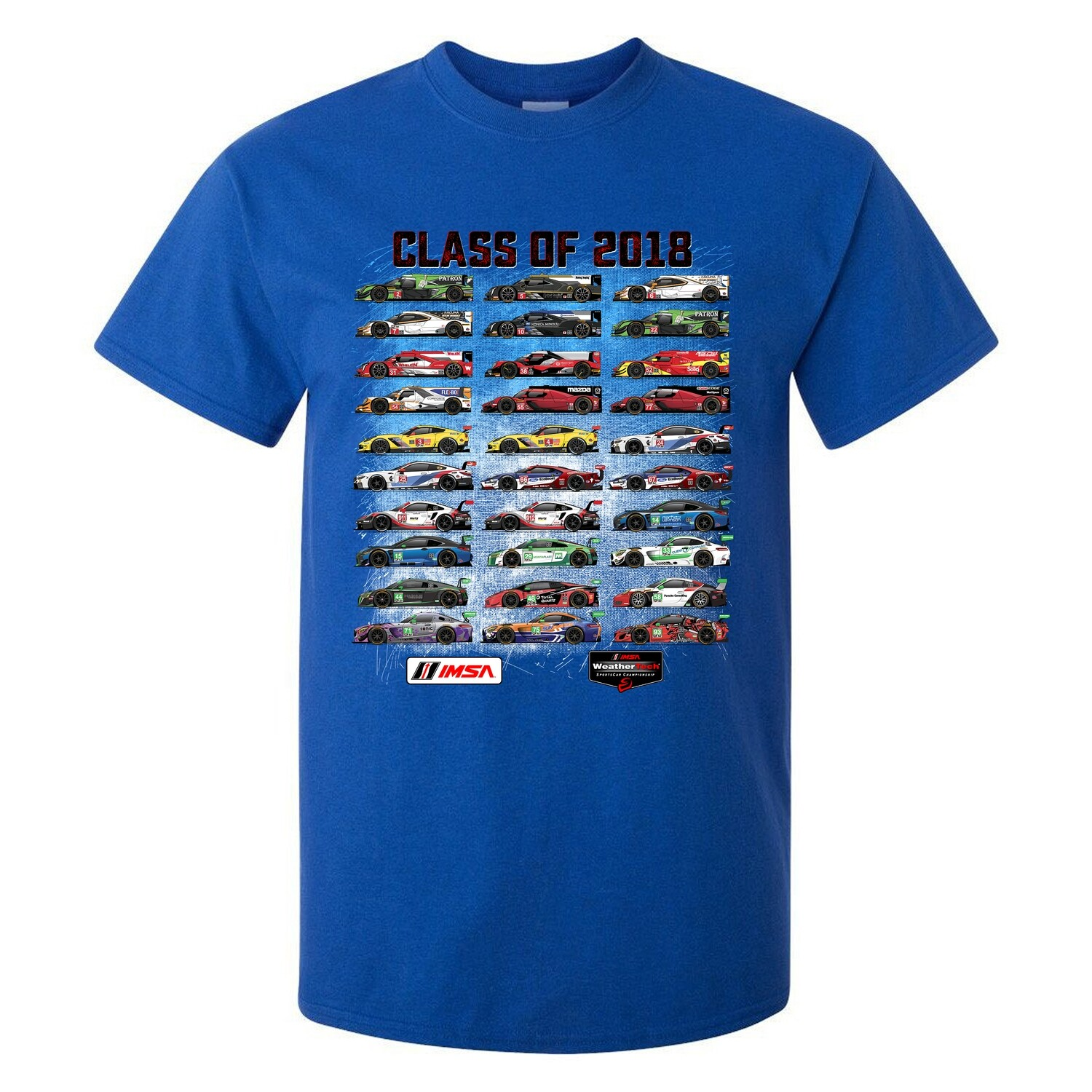 Youth Class Of 2018 Tee - Royal