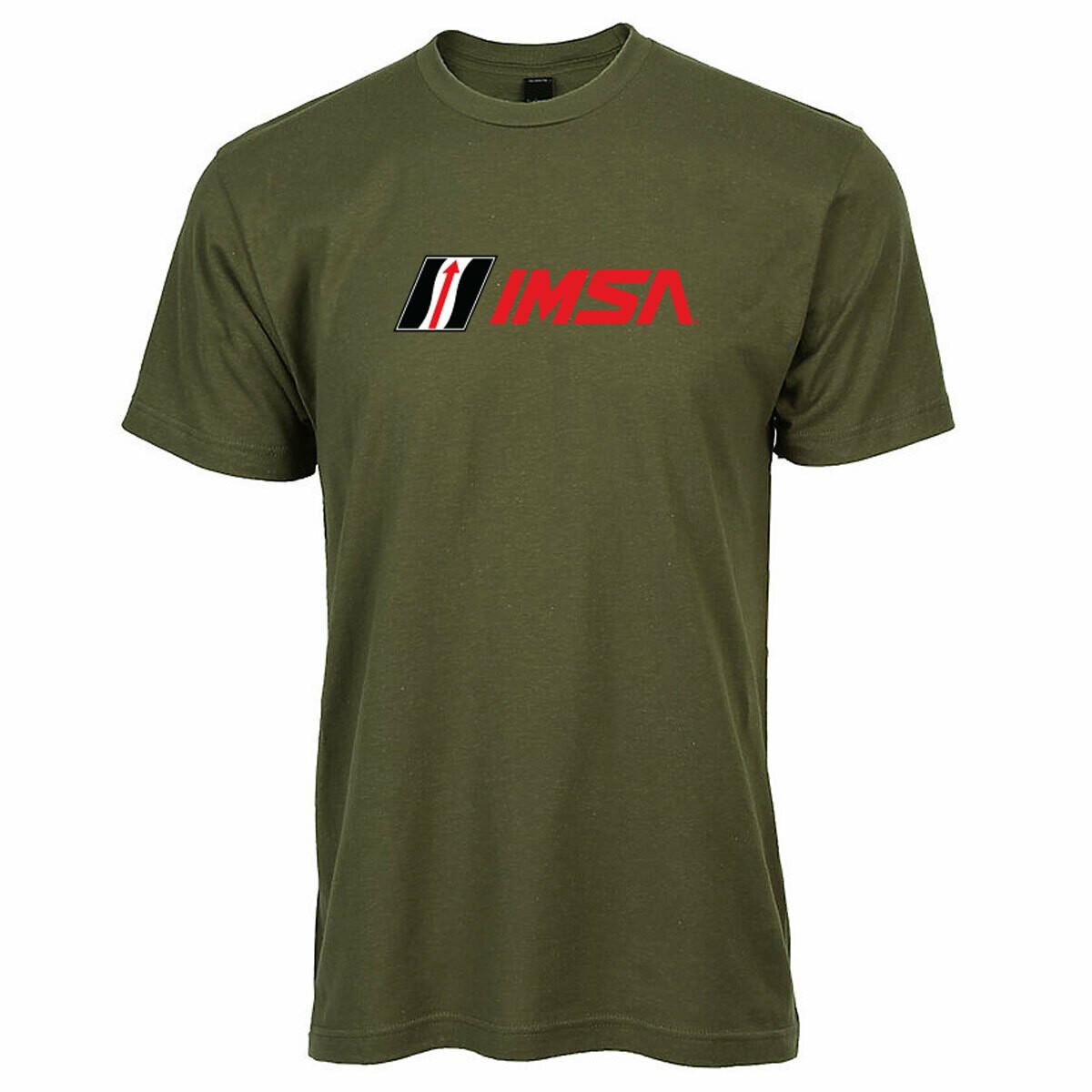 IMSA Logo Tee - Military Green
