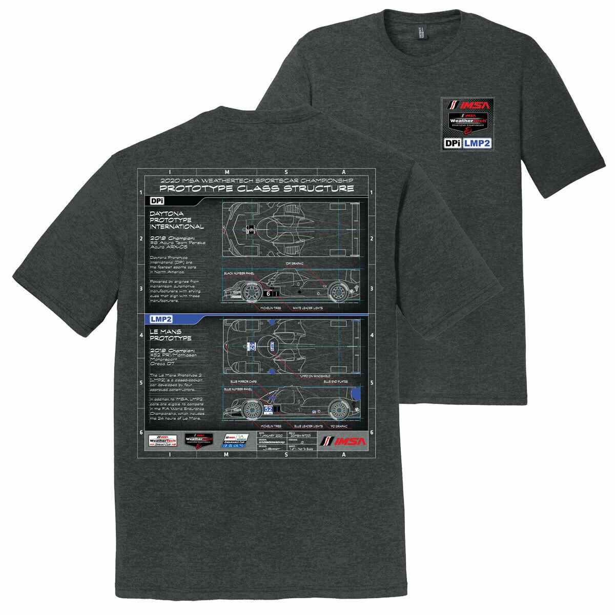 IMSA DPI/LMP2 Technical Tee - Black Frost