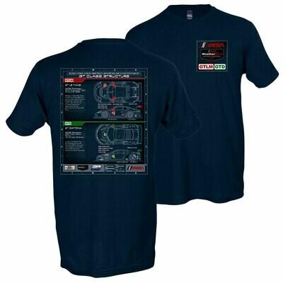 IMSA GTLM/GTD Tech T- Navy