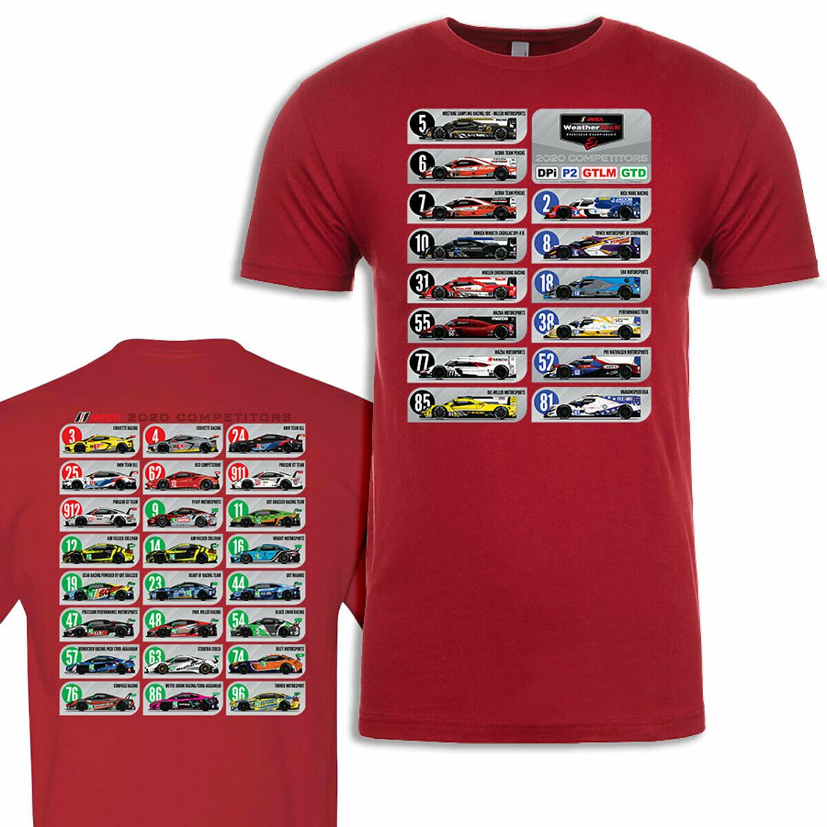 IMSA 2020 Car Spotter T Cardinal