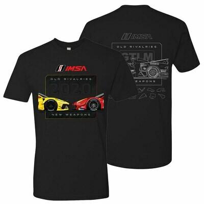 Corvette Vs Ferrari T - Black