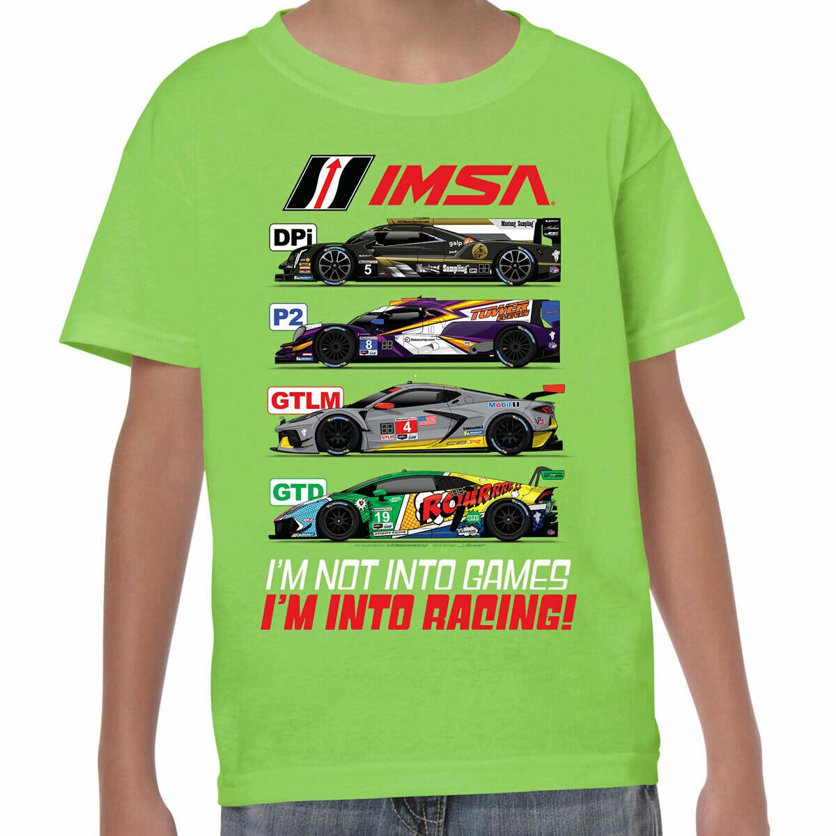 IMSA 2020 Youth Car Class Tee- Lime