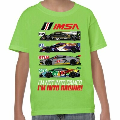 IMSA 2020 Youth Car Class Tee- Lime