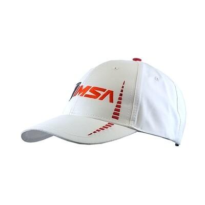 IMSA Logo  Hat - White/Red