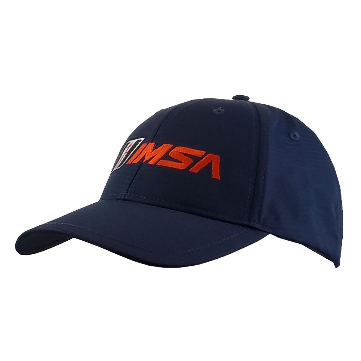 IMSA Logo Poly Hat - Navy