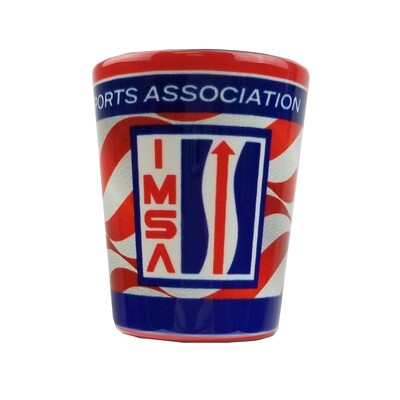 IMSA Vintage Logo Shot Glass