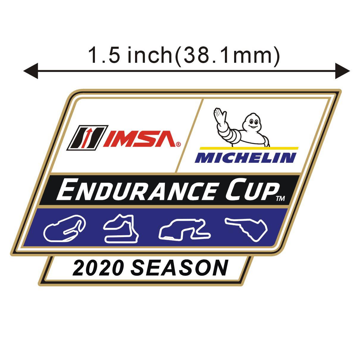IMSA Endurance Cup 2020 Lapel Pin