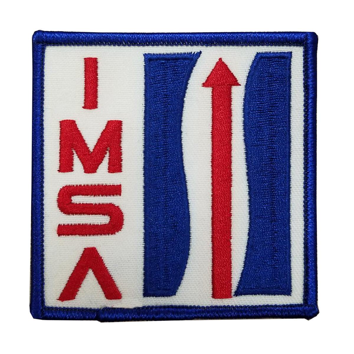 IMSA Vintage Logo Twill Patch