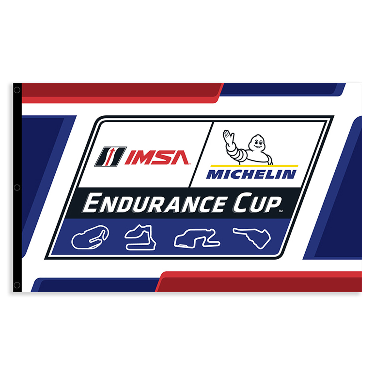 IMSA Endurance Cup Flag 3 ft x 5 ft