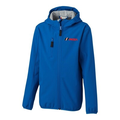 IMSA Youth Trail Cutter & Buck Jacket - Blue
