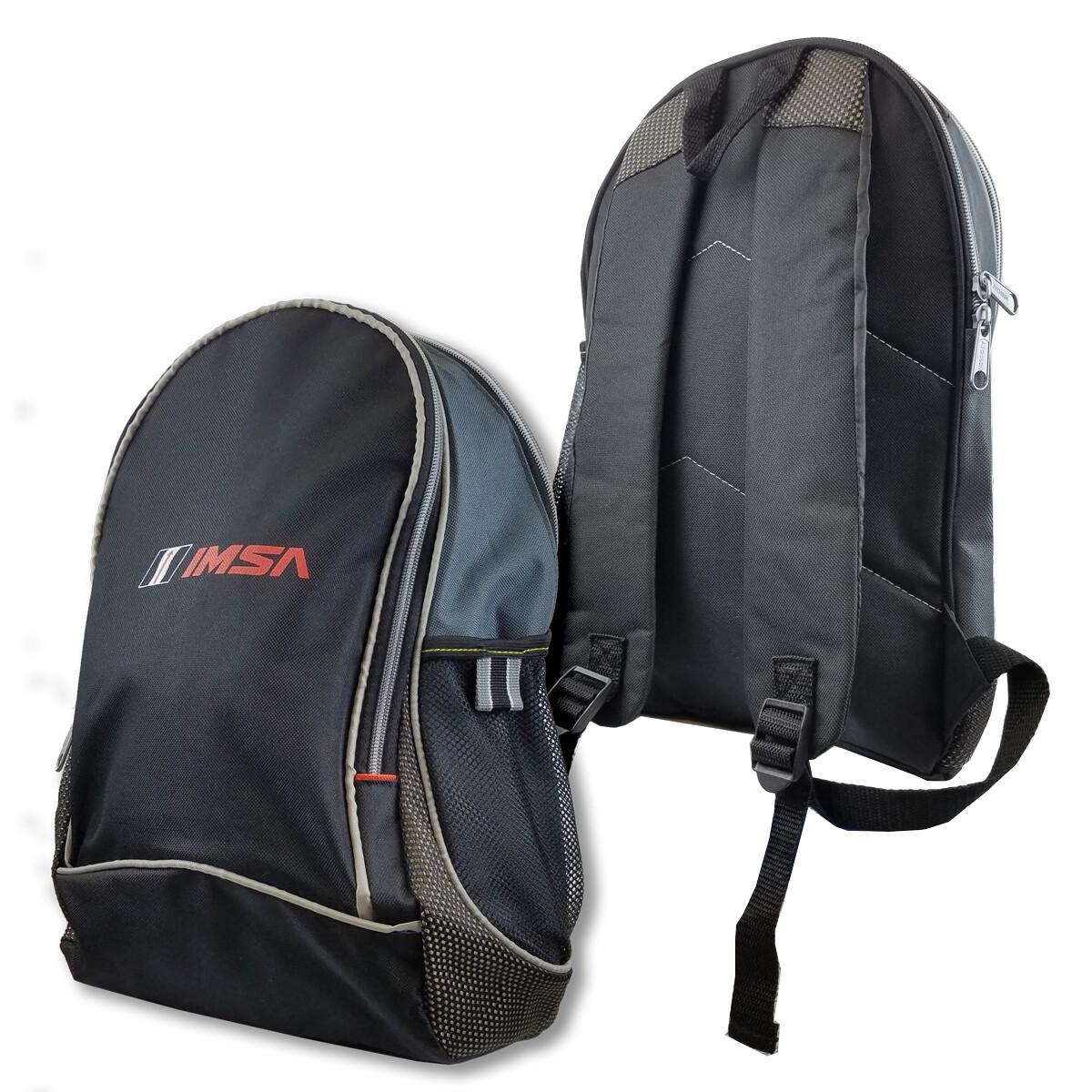 IMSA Backpack -TitleTrack Black/Grey