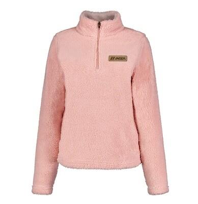 IMSA Ladies Sherpa Fleece - Pale Pink