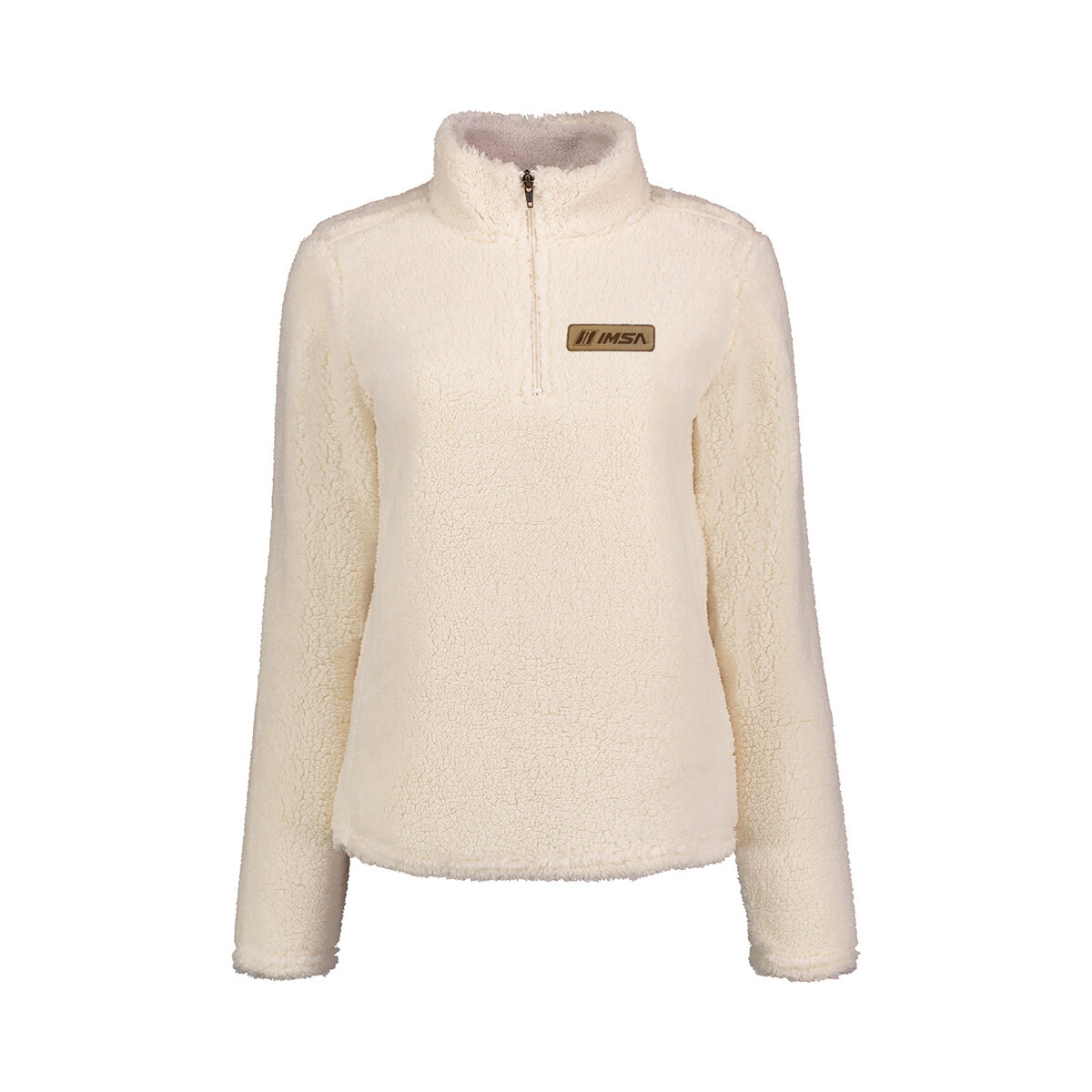 IMSA Ladies Sherpa Fleece - Ivory