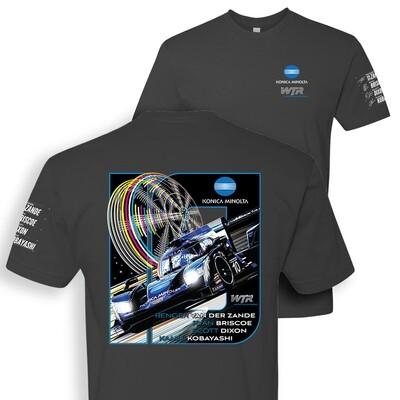 2020 Wayne Taylor Racing Tee - Gunmetal