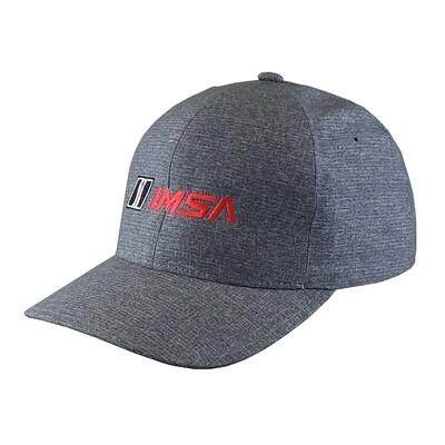 IMSA Flexfit Hat - Carbon Heather