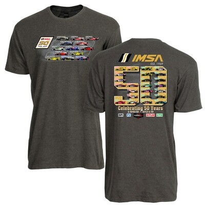 Car Spotter Tee Htr Charcoal