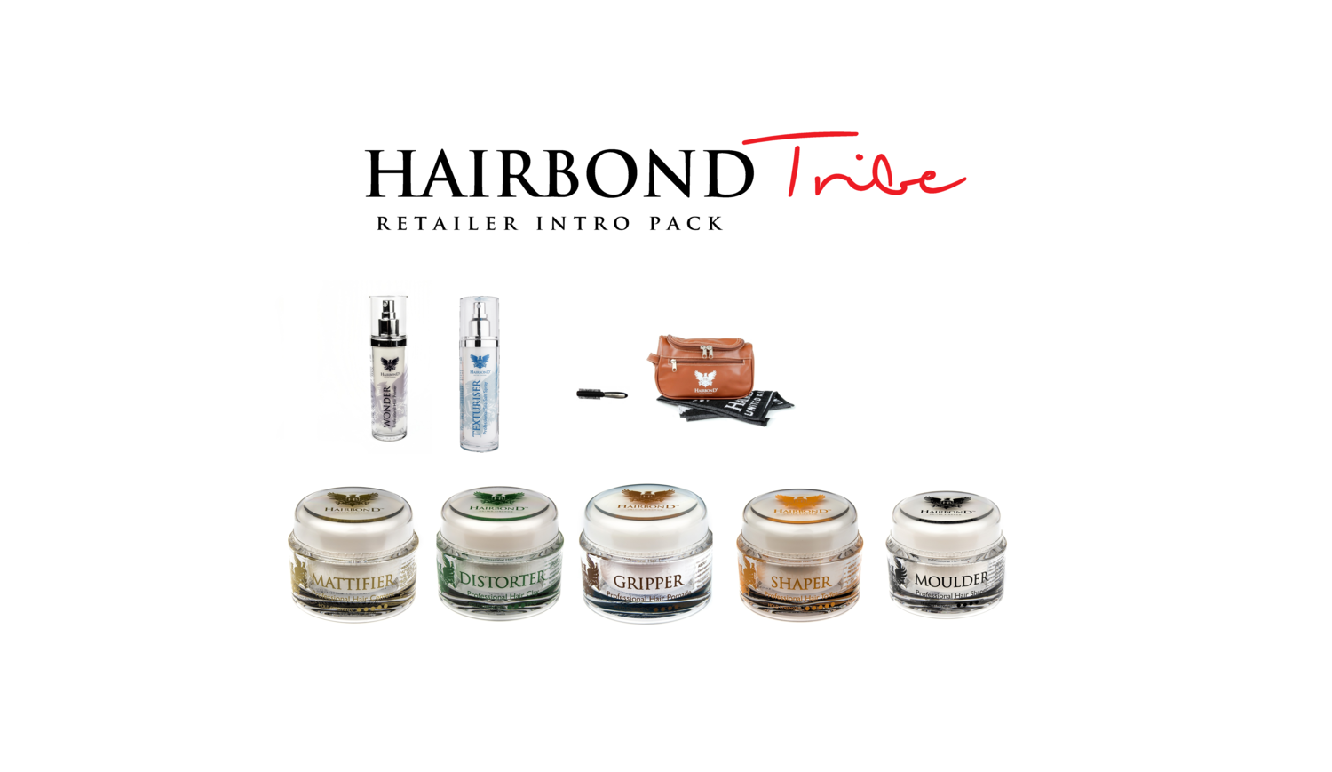 Hairbond Tribe Retailer Intro Pack