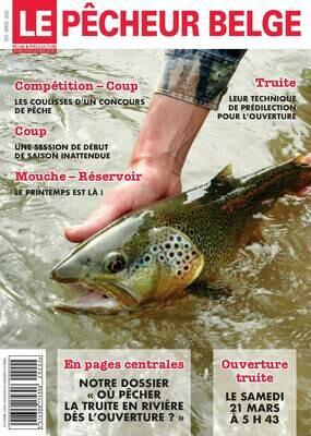 Abonnement à la revue Le Pêcheur Belge (papier + digital)