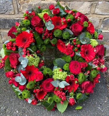 Red and Green wreath