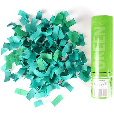 Хлопушка Зеленое конфетти 20 см