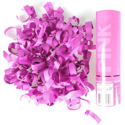 Хлопушка Розовое конфетти 20см
