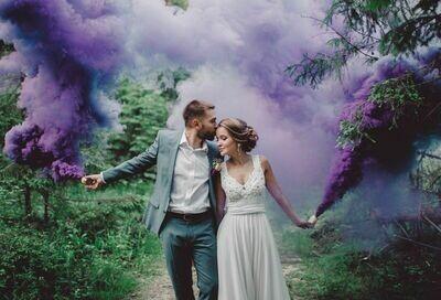 Цветной дым (фиолетовый )
